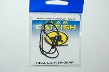 team catfish hooks real gear double action circle hook size 3/0 bait 5 per pack