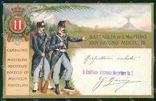 Militari Reggimentali 11º Reggimento Fanteria cartolina XF4389
