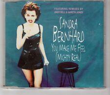 (HI385) Sandra Bernhard, You Make Me Feel (Mighty Real) - 1994 CD