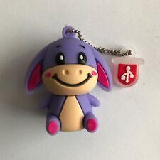 1 New Cute Novelty Eeyore Donkey, 4GB USB Flash Drive Memory Stick