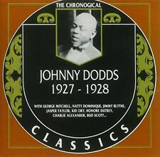 Johnny Dodds -Classics 1927-1928, CD Album, NEW, Sealed