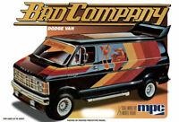 MPC 1982 Dode Van Bad Company 1:25 scale model car kit new 824