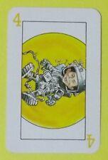 Ersatzkarte Mad Kartenspiel // Karte 4 Gelb