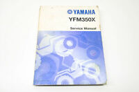 OEM Yamaha LIT-11616-07-34 YFM350X(T-W) Service Manual