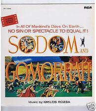 LP OST MIKLOS ROZSA SODOM AND GOMORRAH (LP JAPAN)