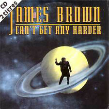 CD single James BROWN Can't get any harder 2 tracks card sleeve