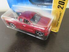 Hot Wheels CHEVY SILVERADO 1/64 MOFC Red (C1)