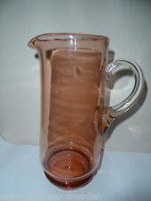 21047 Glaskrug Jugendstil  Abriß mundgeblasen decanter 1930