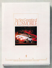 1989 Oldsmobile Sales Brochure Toronado Trofeo Custom Cruiser Cutlass Supreme