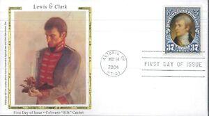 2004 Astoria Oregon Lewis & Clark Colorano Silk Cachet First Day Cover