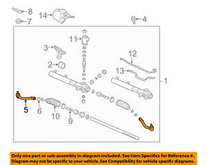 KIA OEM 11-13 Sorento Steering Gear-Outer Tie Rod End 568202B900