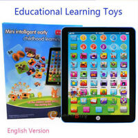 Educational Learning Tablet Computer Toy Machine for 1-8 Years Old Kids Boy Girl