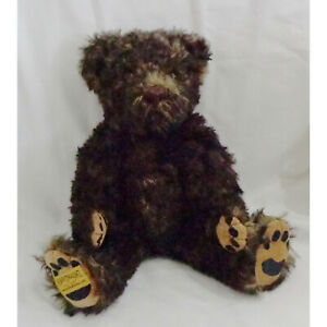 """MERRYTHOUGHT BEAR """"TUNEFUL TIMMY"""" MUSICAL LIMITED EDITION"""