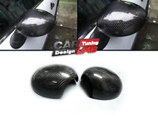 Carbon Door Mirror Caps Cover Manual For Mini Coopers S R55 R56 R57 R58 R59 R60