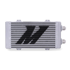 Mishimoto Universal Dual Pass Bar & Plate Oil Cooler Small - Silver