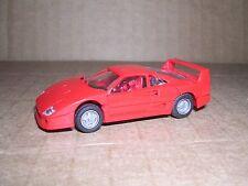 """Herpa #2510 Ferarri F40 Racer """"Red"""" H.O.Gauge"""