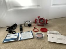 Olympus Camera And Underwater Carrying Home-includes Cd, Extra Lenses And More