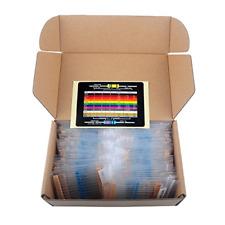 Metal Film Resistors Assortment Kit Resistance 1/4 Watt 1460 pcs Resistors Pack