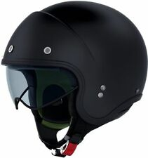Open Face Plain Matt Motorcycle Helmets
