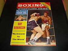 Boxing Illustrated Wrestling News March 1960 Magazine VG / FN (7.0) Sugar Ray