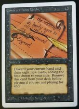 Contract From Below Unlimited - Played Condition - MTG Magic Card