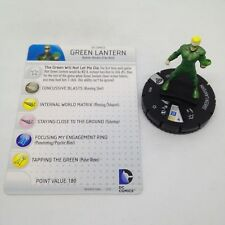 Heroclix Superman / Wonder Woman set Green Lantern (Wonders) #035 Rare w/card!