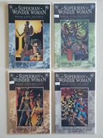 Superman/Wonder Woman: Whom Gods Destroy 1 2 3 4 Complete Set Run Lot 1-4 VF/NM