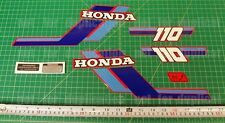 1984 84' honda ATC 110 ATV Gas Tank 7pc vintage Graphics decal stickers