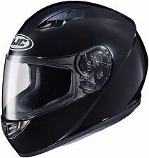 HJC CS-R3 Full Face Motorcycle Helmet Gloss Black Size Large DOT
