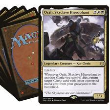 ORAH Commander Deck MTG Magic the Gathering Black White EDH Lot with Rares