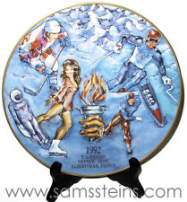 Budweiser 1992 US Winter Olympic Plate