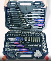 164pcs Car Bicycle Repair Tool Set Professional Hand Tools Kit Ratchet Wrench