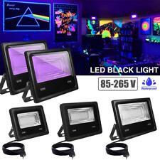30W LED Schwarzlicht Strahler UV Fluter Außen Lampe Scheinwerfer Club Partylicht