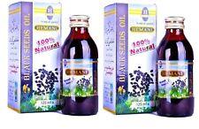 2  * Hemani Black Seed Oil 125ml 100% Natural Kolanji /Cumin/Nigella Sativa Oil