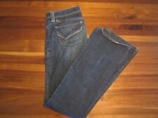 Kasil Heritage women's bootcut stretch jeans GWEN denim 27 X 34 low rise