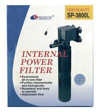 Resun Innenfilter SP3800L Schnellfilter +Extra Patrone  Powerhead  Barschbecken