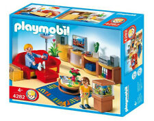 Playmobil Wohnzimmer 4282, f. Einfamilienhaus mit Anleitung