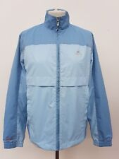 D535 WOMENS ELLESSE BLUE LITE WEIGHT ZIP UP TRACKSUIT JACKET TOP UK 14