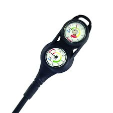 IST Mini Triple Gauge Console PSI Depth with Compass