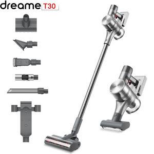 2021 New Dreame T30 aspirateur à main sans fil 190 AW 27kpa écran HD intelligent