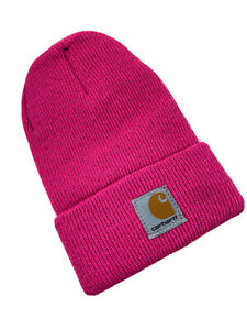 CARHARTT Beanie FUCHSIA PURPLE TODDLER BABY | Knit Hat Cap 100% Authentic NEW