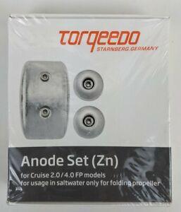 Set Sacrificial Anode Zn For Torqeedo Cruise 2.0/4.0 Sailboat Motor Factory Seal
