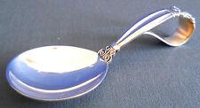 Georg Jensen Sterling Silver Acorn Loop Baby Spoon