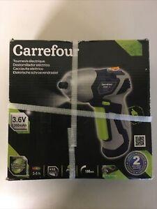 tournevis electrique carrefour 3,6 V