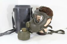 German Gas Mask Canister & Air Filter Case Army Military Halloween Prop/Costume