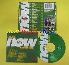 CD NOW HIT'S SUPERSTARS 97/98 compilation 1997 VERVE SPICE GIRLS OASIS (C3*)
