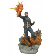 Diamond Millestones Marvel statue Captain America Civil War