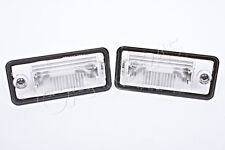 Genuine License Plate Light Lenses Pair Audi A3 A4 A5 A6 C6 A8 D3 Q7 RS4 01-