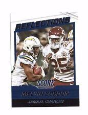 Melvin Gordon, Jamaal Charles 2016 Score, Reflections, Football Card