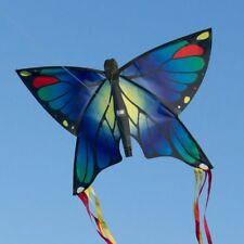 Aquilone Farfalla - Butterfly BLUE - aquiloni a linea singola per bambini (c8L)
